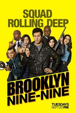 Brooklyn Nine-Nine - Lei e Desordem 4ª Temporada