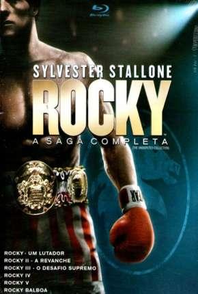 Capa Coleção Rocky Balboa a Saga Completa - Todos os Filmes Dublado