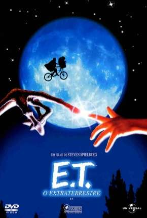 Capa E.T. - O Extraterrestre (BluRay) Dublado