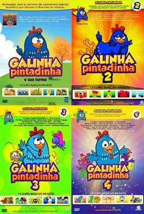 Galinha Pintadinha 1, 2, 3 e 4 - Todos os Filmes