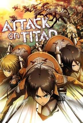 Ataque dos Titãs - Shingeki no kyojin 1ª Temporada