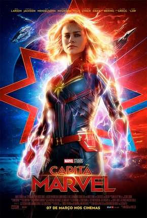 Poster Capitã Marvel - Legendado