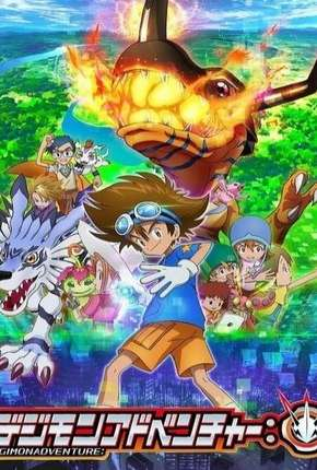 Digimon Adventure - 1ª Temporada - Legendado via Torrent