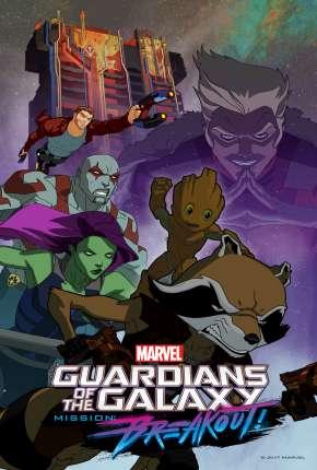 Capa Guardiões da Galáxia - 3ª Temporada Dublado