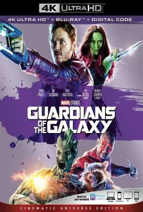 Guardiões da Galáxia 4K