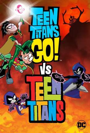 Capa Jovens Titãs em Ação! vs Jovens Titãs Dublado
