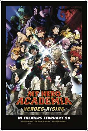 Filme My Hero Academia: Ascensão dos Heróis - Legendado Download