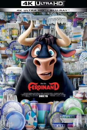 O Touro Ferdinando - 4K