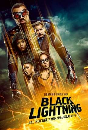 Raio Negro - Black Lightning 3ª Temporada Legendada via Torrent