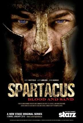 Spartacus - Sangue e Areia - 1ª Temporada Completa