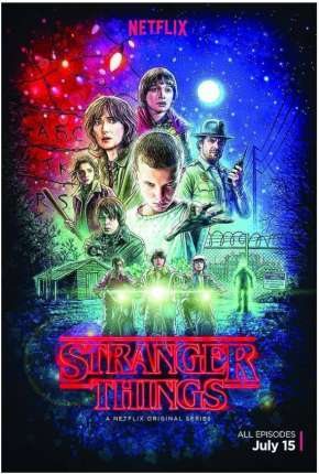 Stranger Things - 1ª Temporada Completa Netflix