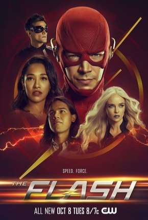 Capa The Flash - 6ª Temporada Completo Dublada