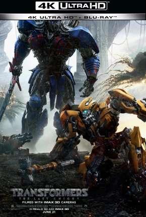 Transformers - O Último Cavaleiro - IMAX - 4K