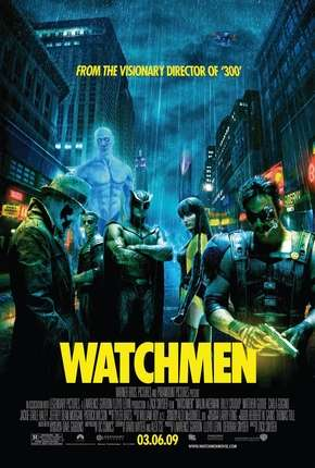 Watchmen - O Filme - IMAX OPEN MATTE