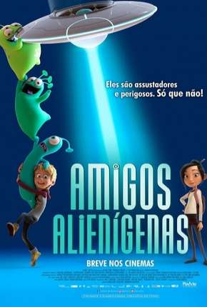 Amigos Alienígenas - Luis e the Aliens