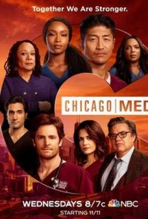Poster Chicago Med - Atendimento de Emergência - 6ª Temporada