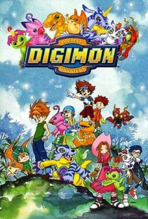 Digimon 1ª até 5ª Temporada via Torrent