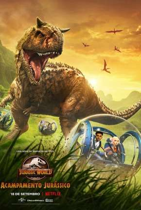 Jurassic World - Acampamento Jurássico - 1ª Temporada Completa via Torrent