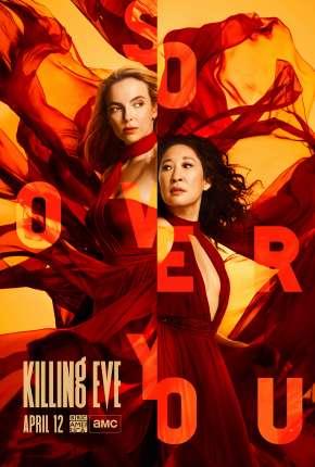 Killing Eve - Dupla Obsessão - 3ª Temporada via Torrent