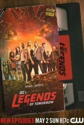 Legends of Tomorrow - Lendas do Amanhã 6ª Temporada Completa Legendada via Torrent