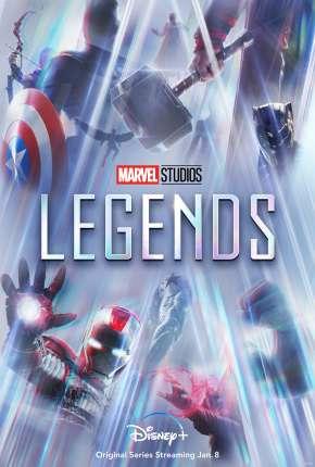 Capa Lendas da Marvel - 1ª Temporada Completa Dublada