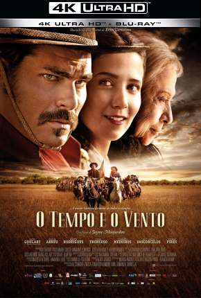 O Tempo e o Vento - Completa - 4K via Torrent